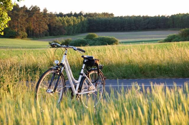 Pałuki na rowerze